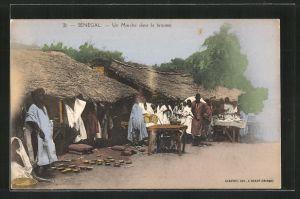 AK Sénégal, Un marché dans la brousse