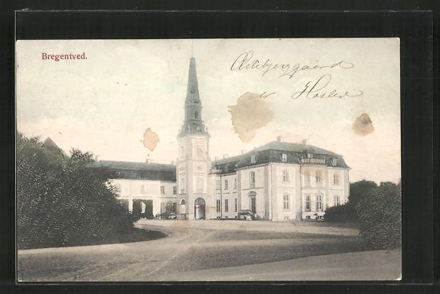 AK Haslev, Partie am Schloss Bregentved