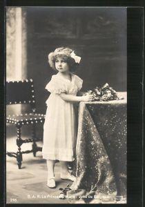 AK Prinzessin Marie-José von Belgien als Kind