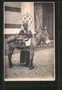 AK Donkey Boy, Ägyptischer Eselführer