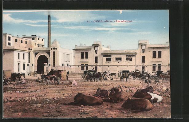 AK Casablanca, les Abattoirs, Schlachthaus