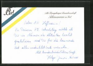 AK Kiel, Studentenwappen der Burschenschaft