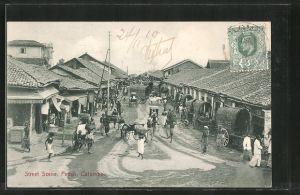 AK Colombo-Pettah, Street Scene