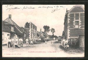 AK St-Léger-aux-Bois, La rue d'Enfer
