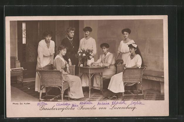 AK Grossherzogliche Familie von Luxemburg