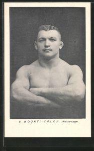 AK W. Hourti-Colon, Meisterringer, Kraftsportler