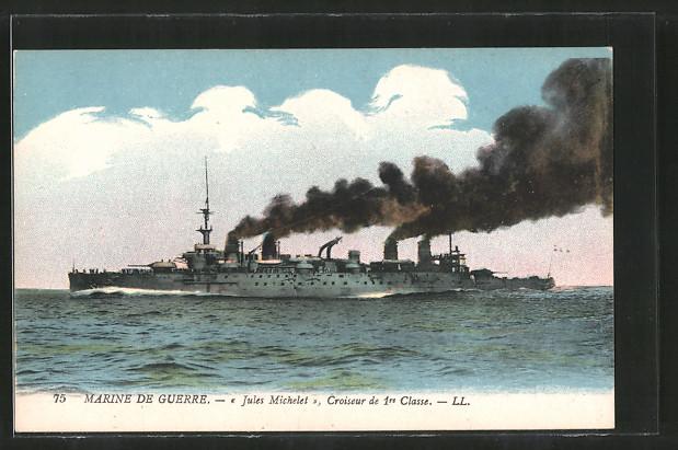 AK Marine de Guerre, croiseur de 1re classe