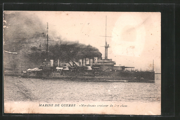 AK Marine de Guerre, croiseur de 1re class