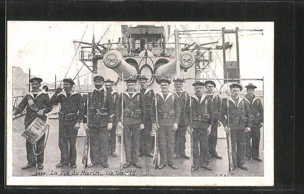 AK La vie du marin, la garde