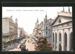 AK Cape Town, Strassenbahn auf der Adderley Street