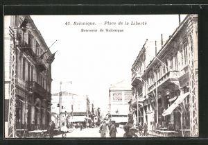 AK Salonique, Place de la Liberté