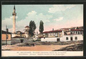 AK Salonique, Moschee / Mosquée, Ancienne Eglise des 12 Apotres