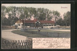 AK Dresden, Sportplatz an der Lennéstrasse