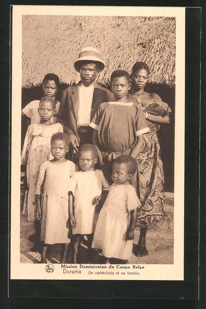 AK Doruma, Un cathéchiste et sa famille, afrikanische Volkstypen