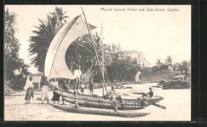 AK Colombo, Boat at the Sea Shore, Mount Lavinia Hotel