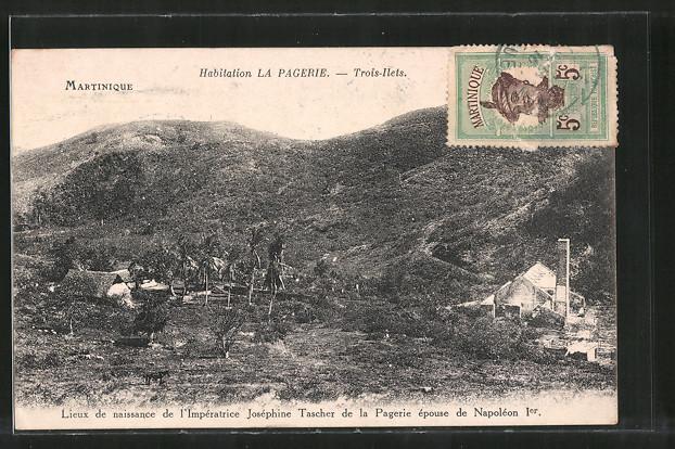 AK Trois-Ilets, habitation La Pagerie