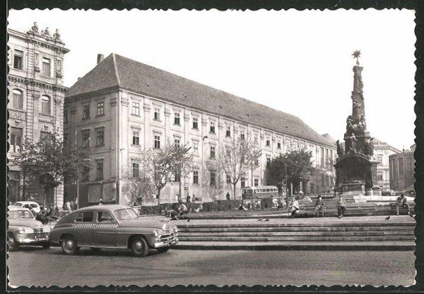AK Pecs, Széchenyi tér, Széchenyi-Platz