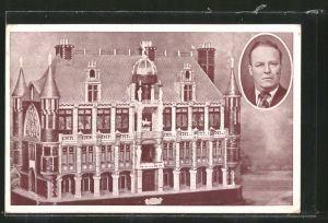 AK Modellbau, Chateau des Rêves exécuté par un Sourd-Muet Brestois, Portrait