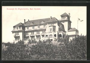 AK Bad Hersfeld, Hotel St. Wigbertshöhe
