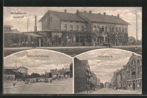 AK Holzwickede, Bahnhof, Bahnunterführung, Kaiserstrasse