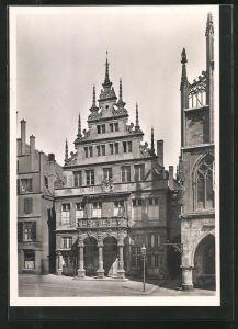 Foto-AK Deutscher Kunstverlag, Nr. Mü 18: Münster, Stadtweinhaus