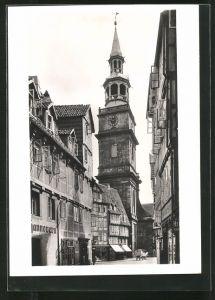 Foto-AK Deutscher Kunstverlag, Nr. 7: Münster, Turm der Aegidienkirche