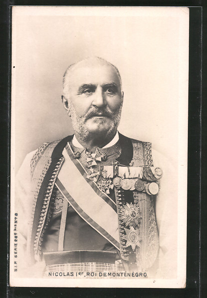 AK Montenegro, Nicolas I. Roi de Montenegro