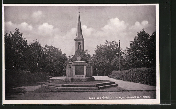 AK Gröditz, Kriegerdenkmal