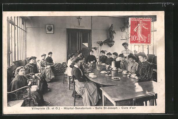 AK Villepinte, Hopital-Sanatorium, Salle St-Joseph