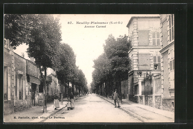 AK Neuilly-Plaisance, Avenue Carnot
