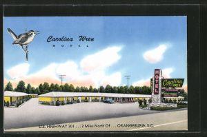 AK Orangeburg, SC, Carolina Wren Motel