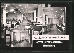 AK Magdeburg, Hotel International, Restaurant Moskwa