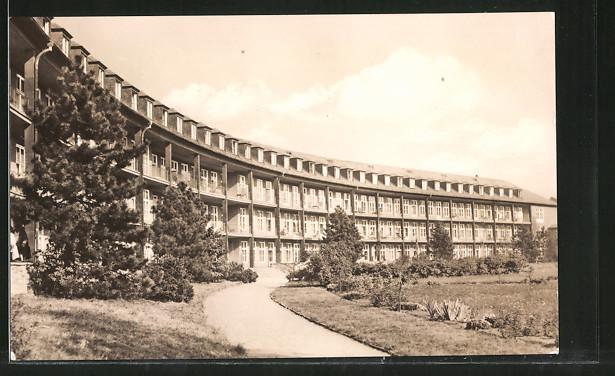 AK Halle, Bezirkskrankenhaus in Dölau
