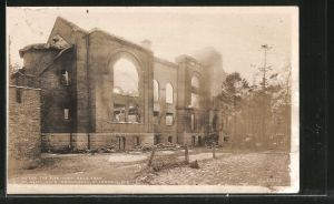 AK St. Francis, WI, St. Aemilian's Orphanage, Wis totally destroyed by fire May 22, 1930