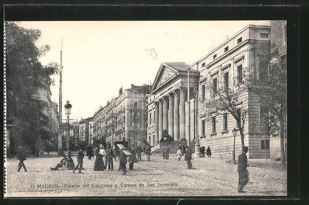 AK Madrid, Palacio del Congreso y Carrera de San Jeronimo