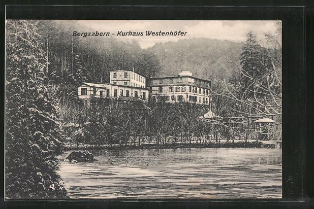 AK Bergzabern, Hotel-Kurhaus Westenhöfer