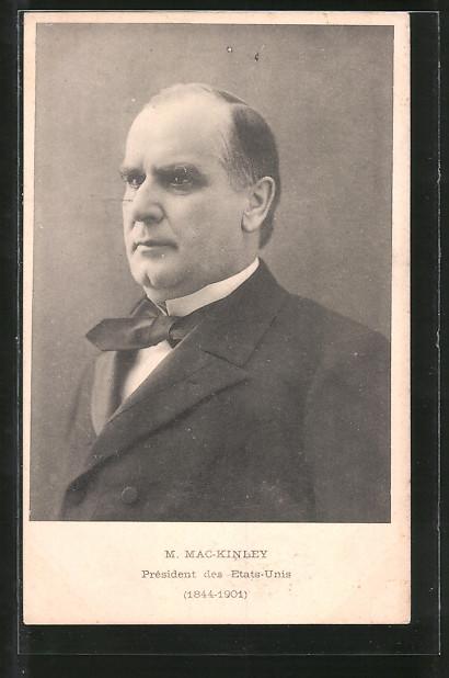 AK M. Mac-Kinley, Präsident der USA, 1844-1901