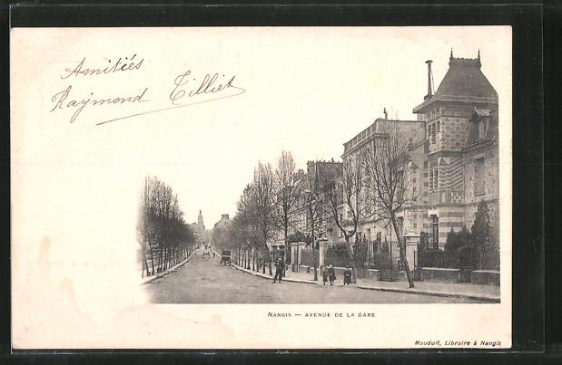 AK Nangis, Avenue de la gare