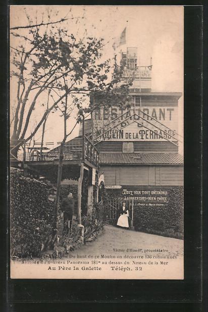 AK Au Pere la Galette, Restaurant du Moulin de la Terrasse