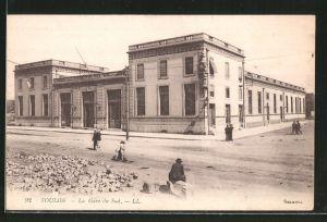 AK Toulon, la Gare du Sud, Süd-Bahnhof