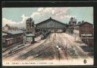 AK Calais, la Gare Centrale, Hauptbahnhof