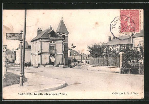 AK Laroche, La Cité, prés la Gare