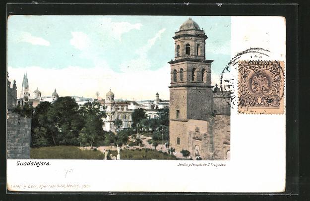 AK Guadalajara, Jardin y Templo de S. Francisco 0