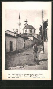 AK Salonique, Mosquee lurque Saatli-Djami