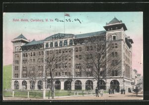 AK Clarksburg, WV, Hotel Waldo