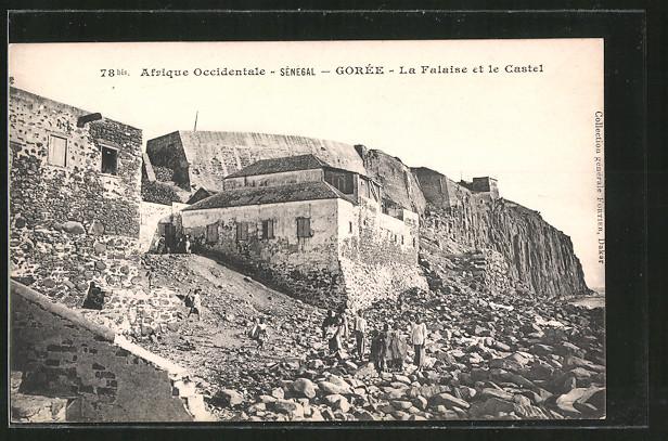 AK Goree, La Falaise et le Castel