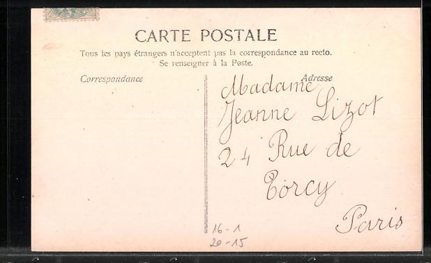 Fotomontage-AK Namenstag Jeanne, Buchstaben mit Damenportraits 1