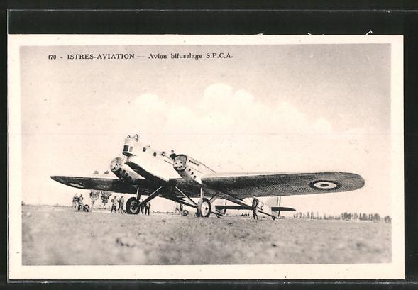 AK Istres-Aviation, Aviation bifuselage S.P.C.A., Zweimotoriges Flugzeuga