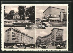 AK Ludwigshafen, Ebertpark, Pfalzbau, Ankerhof