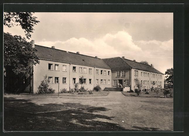 AK Luckenwalde, Pädagogische Schule für Kindergärtnerinnen, Internat